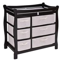 Nursery and Diaper Organizer for Hanging Baby Essentials on Crib Playard Changing Table