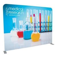 China Attractive Tension Fabric Pop Up Banner Stand for Display on sale