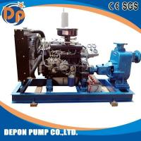 ZX Electric Driven Horizontal Self-priming Suction Water Pump Centrifugal Type