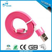 2017 Hot Selling High Quality Flat Cable Micro Usb Cable For Android