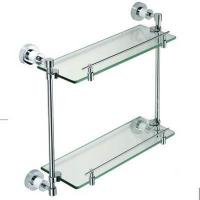 Bathroom Accessories series Product NameTwo glass shelf