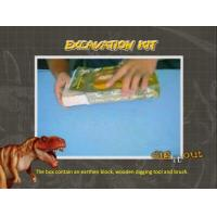 Glow Dinosaur Egg Excavation Kit/Dig it Out Toys