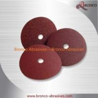 Wholesale 4-1/2, 115mm Round/Cross/Star Hole Aluminum Oxide Resin Fiber Disc from china suppliers