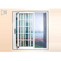 Wholesale Dust Proof Aluminium Sliding Windows Grill Design With Stainless Steel Insect Screen from china suppliers