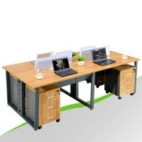 Wholesale Double Sided Office Desk for 4 Person from china suppliers