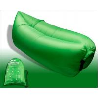 Wholesale Outdoor Fast Inflatable Laybag Air Sleeping Lazy Bag Hangout Lounger Sofa from china suppliers
