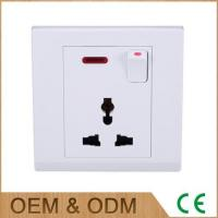 Wholesale Fashional Multiple Electrical Outlets or Multifunction Universal Socket with Neon Light from china suppliers