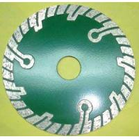 Wholesale FD4017 Sintered turbo blade with protect teeth for granite from china suppliers