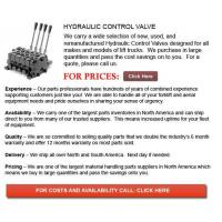 China Hydraulic Control Valves for Forklift on sale