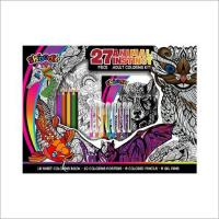 Wholesale Animal Instinct 27pc. Adult Coloring Kit from china suppliers