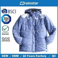 Men Outer & Windproof Blue Adults Bomber Jacket