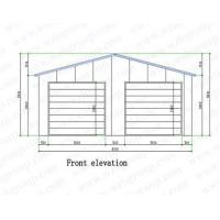 Wholesale Multi-slope Prefab Garage from china suppliers