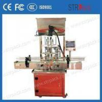 Accurate Piston Filling Equipment With 4 Filling Heads , Lotion Filling Machine
