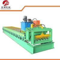 Corrugated Roof Sheet Metal Forming Equipment With Full