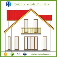2017 china cheap price light steel sandwich panal prefab homes
