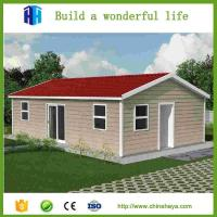 2017 easy install prefabricated houses low cost eps sandwich panel modern house