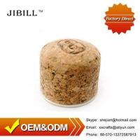 JIBILL Pipe Fittings Briar Wood Specialized Cork Knockers Soft Wooden Cork Stopper for Pipes