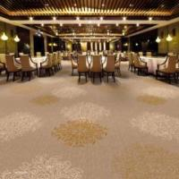 Rich floral and layers pattern nylon printed carpet for hot sales