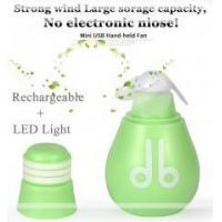 Wholesale wholesale bulb design desk rechargeable mini fan from china suppliers