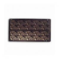 Buy cheap Double-sided PCB with Copper Paste, 0.16/0.16mm Width, ENIG Surface Finish from wholesalers