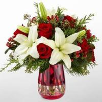 Wholesale Corporate Gifts Lilies in Red Bouquet from china suppliers
