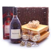 Wholesale FREE Chocolates Specials Private Holiday Basket from china suppliers