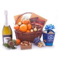 Wholesale Christmas Festive Gourmet Basket from china suppliers