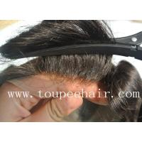 Buy cheap Toupee for Men Stock mono lace toupee Ancora from wholesalers