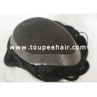 Buy cheap Toupee for Men Stock toupee Lace Top from wholesalers