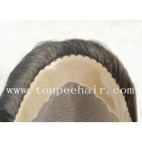 Buy cheap Toupee for Men Stock mono durable toupee Ranges from wholesalers