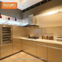 Wholesale Stainless Steel Modular Vintage Metal Kitchen Cabinets for Repalcement Doors from china suppliers