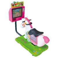 Wholesale Arcade Game Machine Kiddie Indoor Video Horse Ride from china suppliers