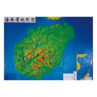 Topographic map of Hainan