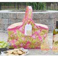 Wholesale Lilly Pulitzer Insulated Party Cooler Basket - Jungle Tumble from china suppliers