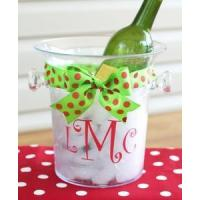 Wholesale Monogrammed Acrylic Ice Bucket - Personalized Free! from china suppliers
