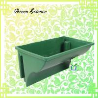 Wholesale Balustrade planter, green wall plastic flower pots / The road greening flowerpot railings green flow from china suppliers
