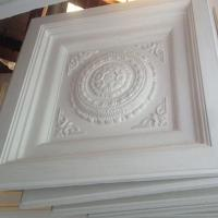 Wholesale gypsum ceiling tile 3D gypsum tile special for hotel banquet place classical from china suppliers