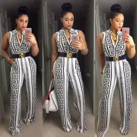 China New Rompers Women Jumpsuits Sleeveless Sexy Clubbing Wear on sale