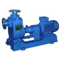 Industrial clean water self-priming pump