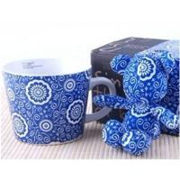 Wholesale Exquisite gift box wide ceramic cups + pendants from china suppliers