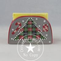 Wholesale Christmas Ceramic Wholesale Christmas Tree Ceramic Sponge Holder Supplier from china suppliers