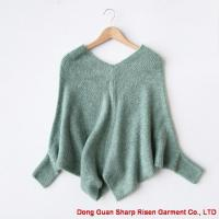 Buy cheap Classic V collar Mohair Pullovers 1709299 from wholesalers
