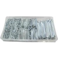 Cotter Pin Assortment Set 1000 pieces 6 sizes ISO