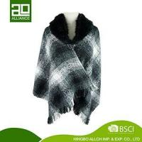 Wholesale WOMEN KNITTED WRAP PONCHO SCARF LDS CAPE/STOLE/WRAP/PONCHO-8 from china suppliers