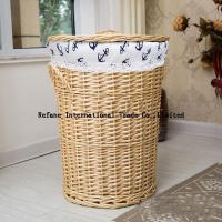 Wholesale handweaved washable plastic rattan laundry basket for hotel hamper basket from china suppliers