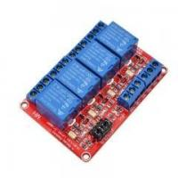 Buy cheap 5V/12V/24V 4 Channel Relay Module Supportthe high and low level trigger (Red board) from wholesalers