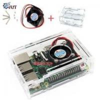 Wholesale Raspberry Pi 3 Transparent Clear Case Enclosure Box With Cooling Fan For Raspberry Pi 2 from china suppliers