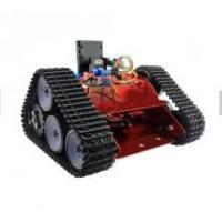 Wholesale 2018 Red crawler tracked car Arduino special robot chassis open source robotic caterpillar car from china suppliers