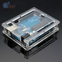 Wholesale Uno R3 Case Enclosure Transparent Acrylic Box Clear shell from china suppliers