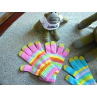 Wholesale Striped gloves from china suppliers